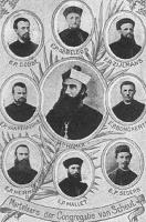 De martelaren van de congregatie van Scheut